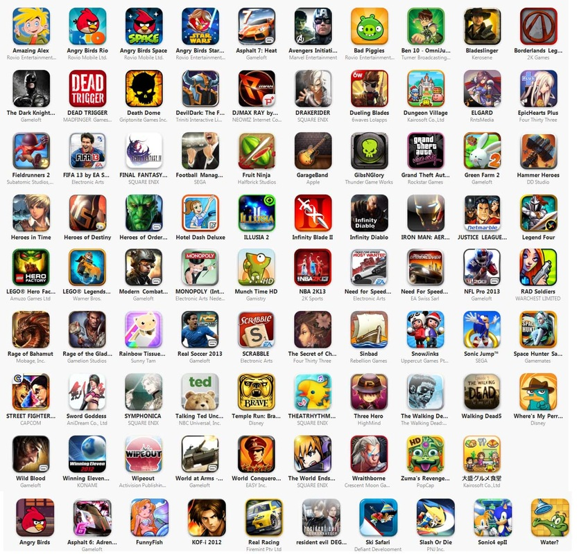 Games iPhone/iPod